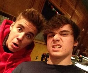 justin bieber, christian beadles, and bieber image
