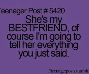 best friend, him, and teenager post image