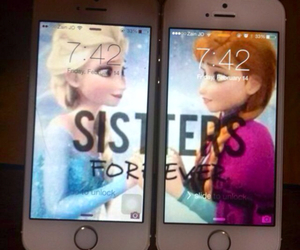 sisters, forever, and frozen image