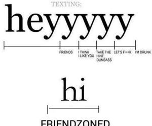 hi, hey, and text image
