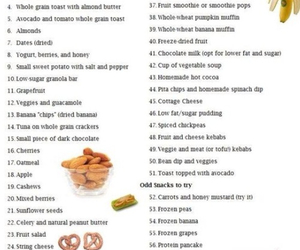 healthy, fitness, and snack image