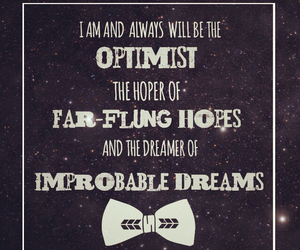 bow tie, doctor who, and quote image
