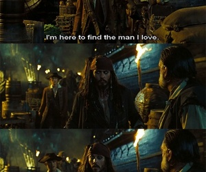 funny, pirates of the caribbean, and jack sparrow image