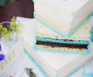 cake, decor, and food image