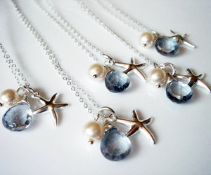 bridal jewelry, bridesmaid, and gift image