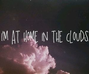 clouds, cool, and home image