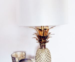 interior, pineapple, and candle image