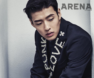 arena homme plus, kang ha neul, and 2014.02 image