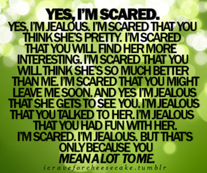 quote and scared image