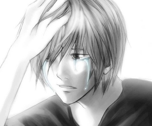 anime, black and white, and death note image