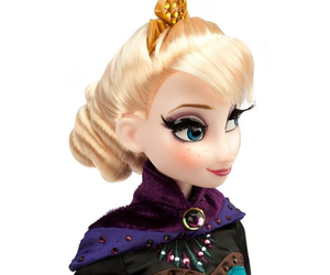 doll, frozen, and elsa image