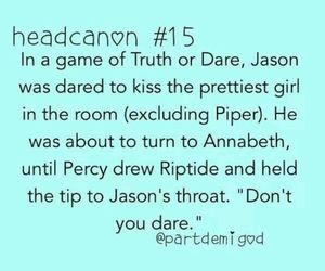 sweet, truth or dare, and percy jackson image
