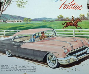 old car and illustration image