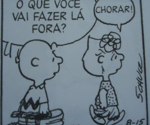 cry, charlie brown, and comic image