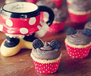 cupcake, disney, and oreo image