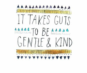 quote, kind, and gentle image
