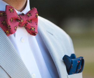 bow tie, dope, and mens fashion image