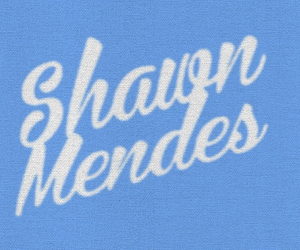 blue, cursive, and shawn mendes image
