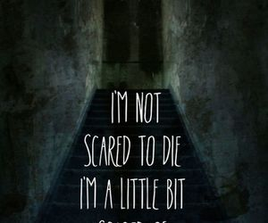 scared, die, and death image