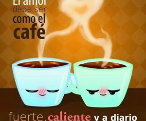 amor, fuerte, and coffee image