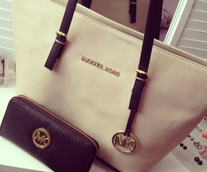 bag, Michael Kors, and handbag image