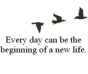 life, quote, and beginning image