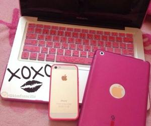 pink, iphone, and ipad image