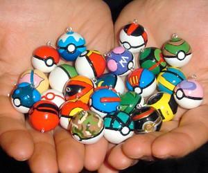 boy, pokebola, and pokemon image