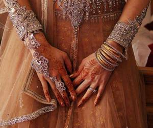 indian, traditional, and wedding image