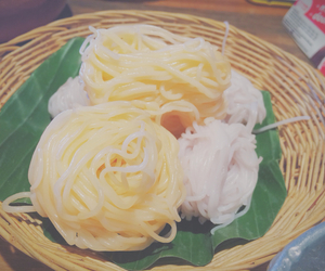 food, noodle, and thai image
