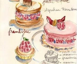 sweet, art, and cake image