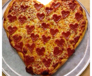heart, pizza, and shape image