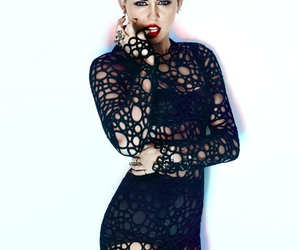 black, miley cyrus, and hipster image