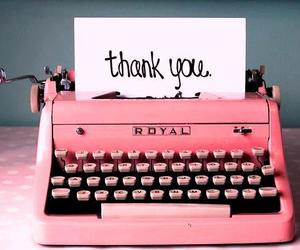 pink and thank you image