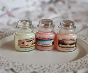 candle, sweet, and yankee candle image