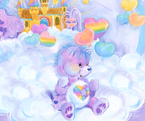 80s and care bears image
