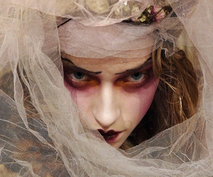 fashion, John Galliano, and makeup image