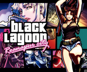 black lagoon, grand theft auto, and revy image