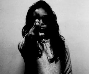 dope, gun, and girl image