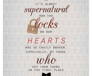 supernatural, doctor who, and quote image