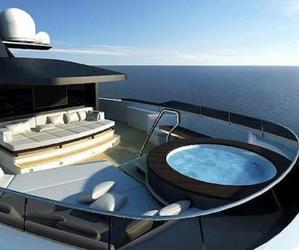 luxury, sea, and yacht image