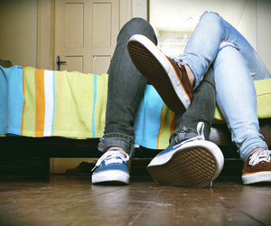 couple, loveshoes, and legs image
