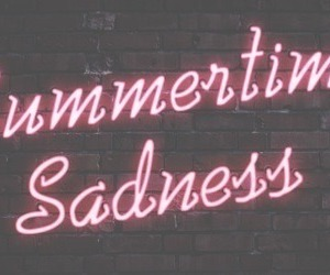 neon, lana del ray, and summertime sadness image