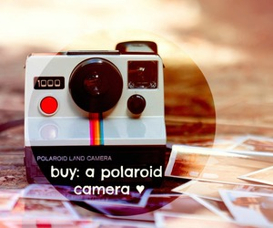 before i die, pictures, and polaroid camera image