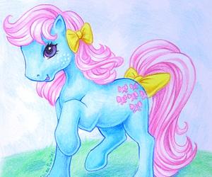 80s, my little pony, and fan art image