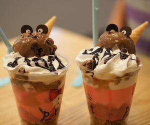 food, ice cream, and cute image