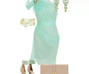 accessories, dress, and earings image