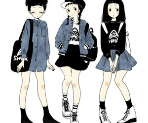 anime, fashion, and kawaii image