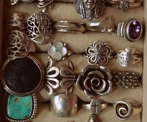rings, ring, and jewelry image