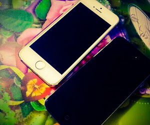 black, white, and iphone5 image